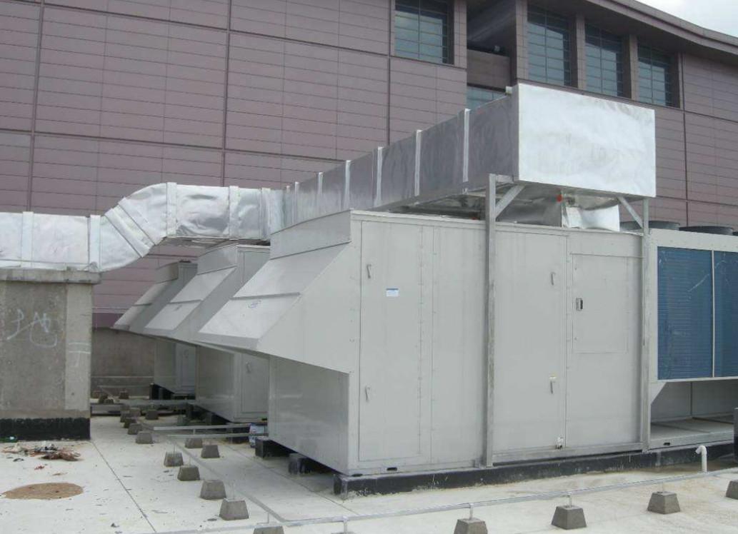 空调机组噪声处理案例